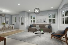 Dream House Plan - Traditional Interior - Family Room Plan #1060-32