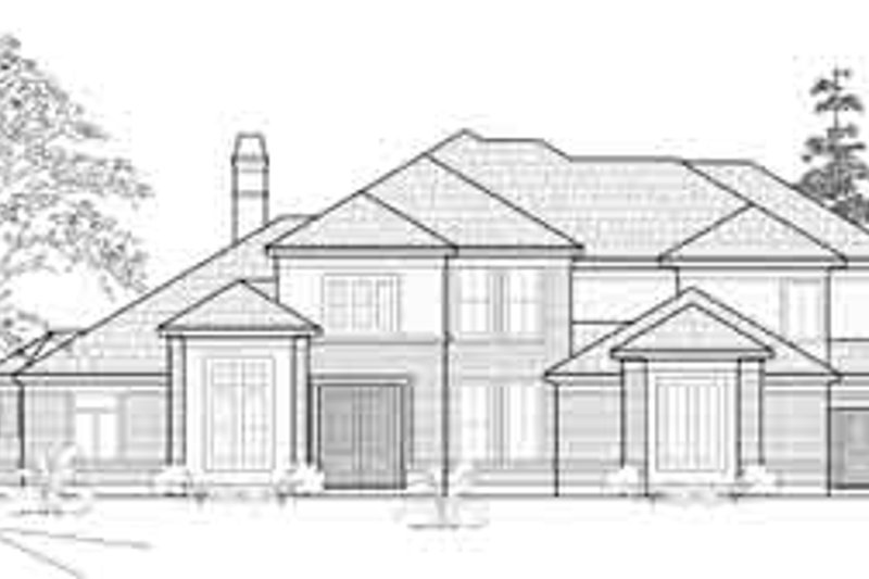 Traditional Exterior - Front Elevation Plan #61-379 - Houseplans.com