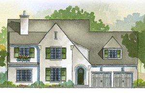 Tudor style, house elevation