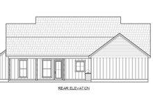 House Plan Design - Farmhouse Exterior - Rear Elevation Plan #1074-44