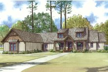 House Plan Design - Craftsman Exterior - Front Elevation Plan #923-15