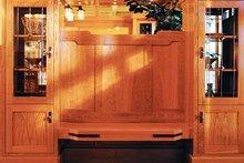 Architectural House Design - Craftsman Interior - Entry Plan #48-150