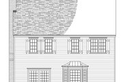Country Style House Plan - 3 Beds 2.5 Baths 2033 Sq/Ft Plan #137-283 Exterior - Other Elevation