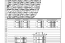 Architectural House Design - Country Exterior - Other Elevation Plan #137-283