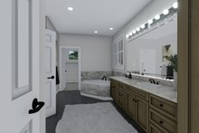 Mediterranean Interior - Master Bathroom Plan #1060-29