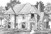 European Style House Plan - 4 Beds 4 Baths 4471 Sq/Ft Plan #141-111