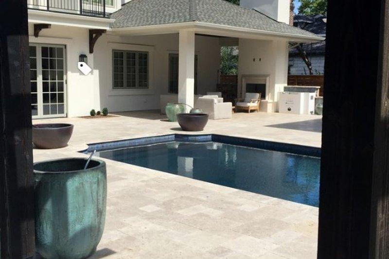 House Plan Design - Traditional Exterior - Outdoor Living Plan #451-29