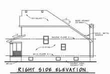 House Plan Design - Craftsman Exterior - Other Elevation Plan #20-1220