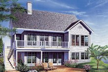 House Design - Traditional Exterior - Front Elevation Plan #23-454