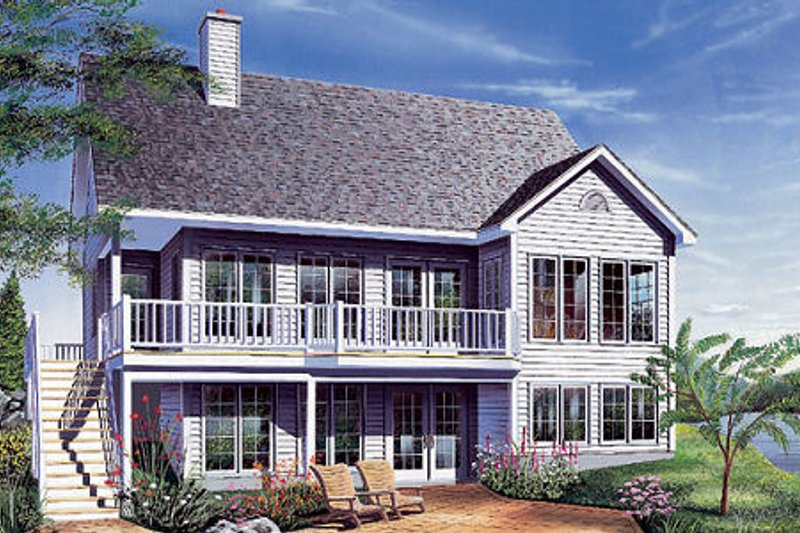Traditional Exterior - Front Elevation Plan #23-454