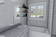 Ranch Style House Plan - 3 Beds 2 Baths 1493 Sq/Ft Plan #1060-39 Interior - Master Bathroom