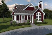 Dream House Plan - Cottage Exterior - Front Elevation Plan #57-194