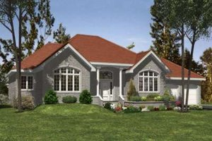 Traditional Exterior - Front Elevation Plan #138-128