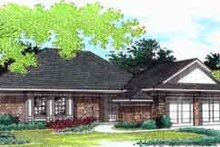 Traditional Exterior - Front Elevation Plan #45-224