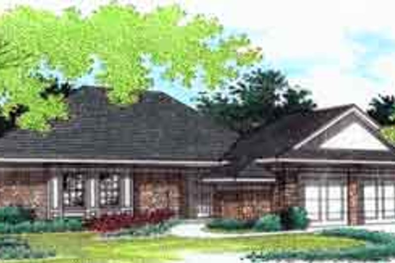 House Plan Design - Traditional Exterior - Front Elevation Plan #45-224