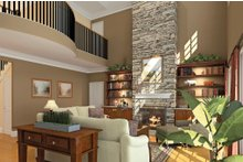 Country Interior - Family Room Plan #929-18