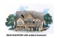 Dream House Plan - Farmhouse Exterior - Rear Elevation Plan #429-35