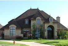 Dream House Plan - European Exterior - Front Elevation Plan #310-432