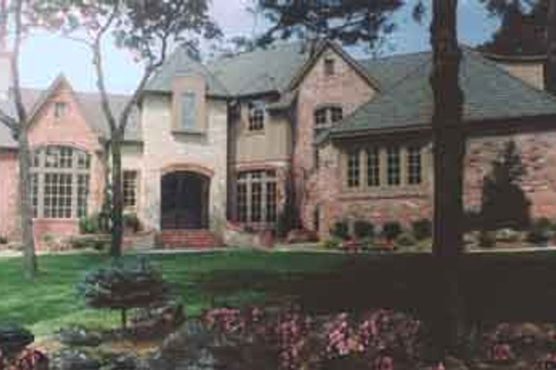 Dream House Plan - European Exterior - Front Elevation Plan #52-159
