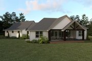 Farmhouse Style House Plan - 3 Beds 2.5 Baths 2271 Sq/Ft Plan #1070-22 Exterior - Rear Elevation