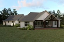 Architectural House Design - Farmhouse Exterior - Rear Elevation Plan #1070-22