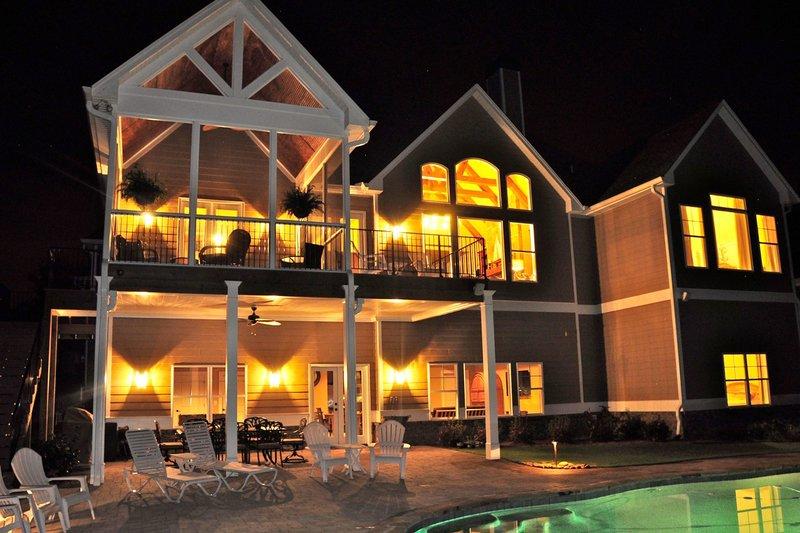 Craftsman Exterior - Rear Elevation Plan #437-60 - Houseplans.com