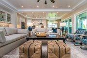 Modern Style House Plan - 4 Beds 4.5 Baths 3726 Sq/Ft Plan #930-519