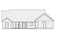 Dream House Plan - Farmhouse Exterior - Rear Elevation Plan #1074-43