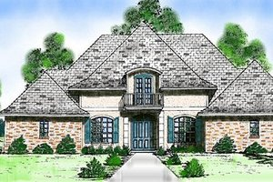 House Design - European Exterior - Front Elevation Plan #52-146