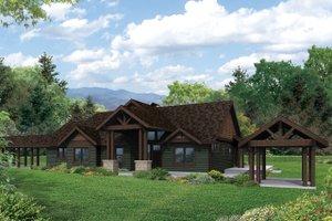Craftsman Exterior - Front Elevation Plan #124-982