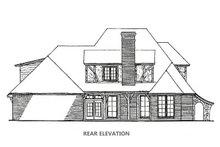 Dream House Plan - Tudor Exterior - Rear Elevation Plan #310-653