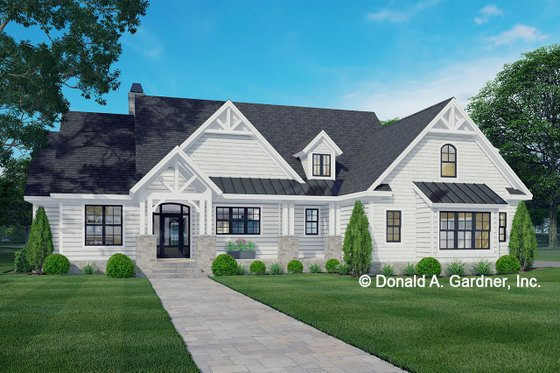 House Design - Ranch Exterior - Front Elevation Plan #929-1089