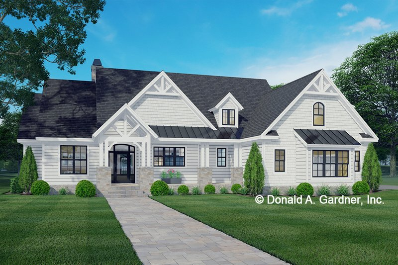 Home Plan - Ranch Exterior - Front Elevation Plan #929-1089