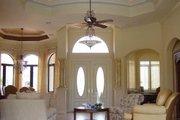 Mediterranean Style House Plan - 4 Beds 4.5 Baths 3650 Sq/Ft Plan #27-229