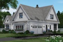 Dream House Plan - Farmhouse Exterior - Rear Elevation Plan #51-1156