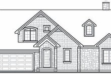 Dream House Plan - Traditional Exterior - Rear Elevation Plan #23-727
