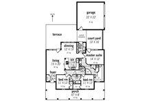 Southern Floor Plan - Main Floor Plan Plan #45-573