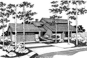 Traditional Exterior - Front Elevation Plan #303-114
