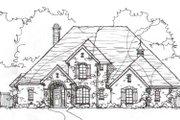 European Style House Plan - 4 Beds 3 Baths 3329 Sq/Ft Plan #141-225