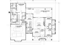 Farmhouse Floor Plan - Main Floor Plan Plan #1069-17