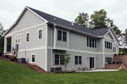 Ranch Style House Plan - 3 Beds 2.5 Baths 3588 Sq/Ft Plan #928-2 Exterior - Rear Elevation