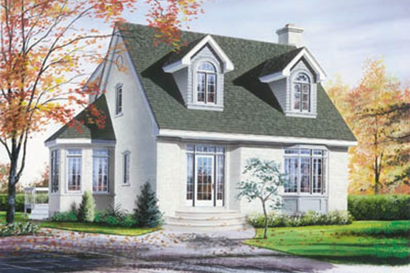 Home Plan - Traditional Exterior - Front Elevation Plan #23-220
