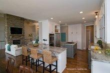 House Plan Design - European Interior - Kitchen Plan #929-4