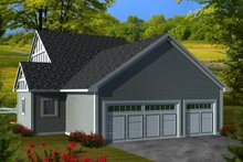Dream House Plan - Ranch Exterior - Rear Elevation Plan #70-1113