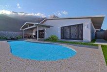 Architectural House Design - Ranch Exterior - Rear Elevation Plan #489-2
