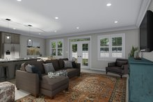 House Plan Design - Ranch Interior - Family Room Plan #1060-101