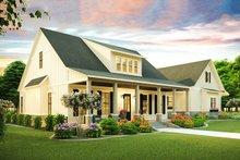 Architectural House Design - Farmhouse Exterior - Front Elevation Plan #406-9653