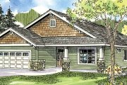 Traditional Style House Plan - 3 Beds 2 Baths 1610 Sq/Ft Plan #124-762