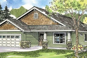 Traditional Exterior - Front Elevation Plan #124-762
