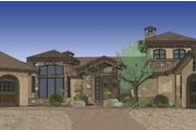 Craftsman Style House Plan - 3 Beds 3.5 Baths 3579 Sq/Ft Plan #892-6 Exterior - Rear Elevation